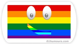 blague gay image drapeau